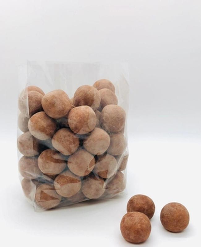 Kartoffeln mit Kakaopulver gepudert 500g