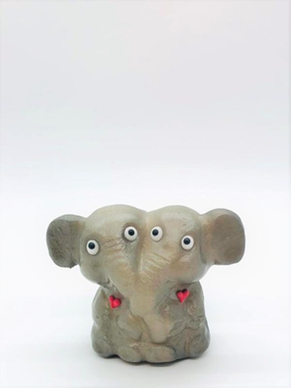 Elefantenpaar in love
