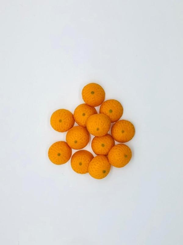 Decor-Orangen aus Marzipan