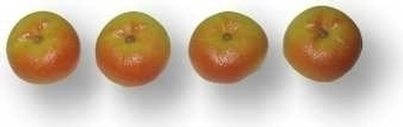 Decor-Äpfel aus Marzipan