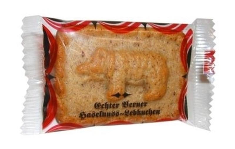 Berner Haselnuss-Lebkuchen 35g