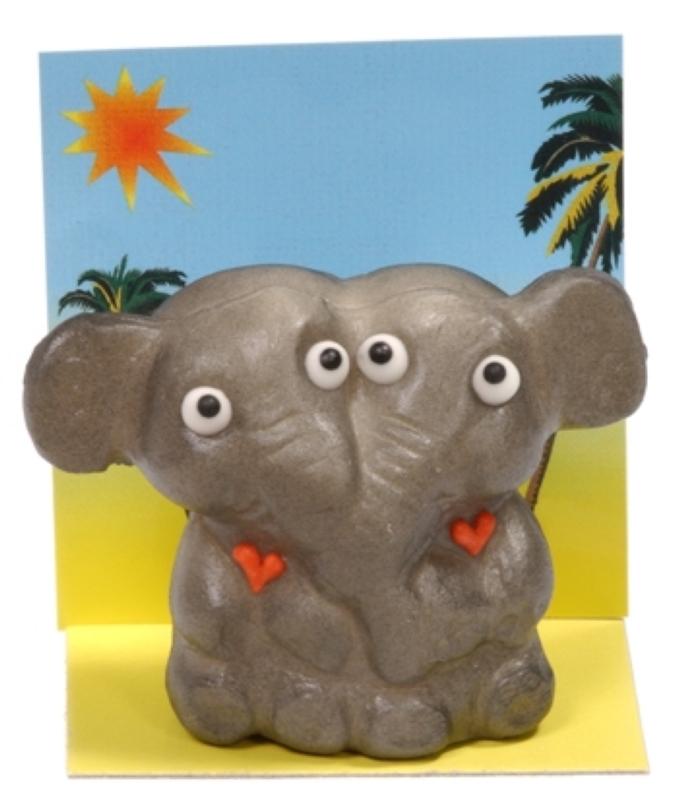 Elefantenpaar in love 75g