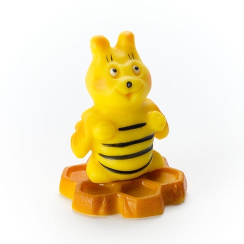 Biene auf Wabe 70g