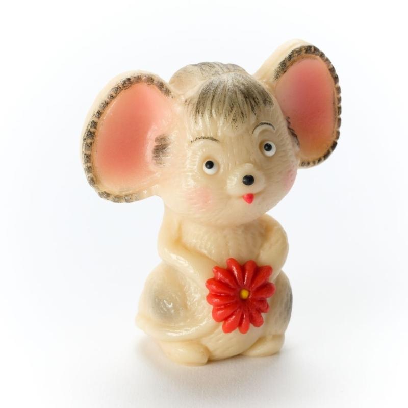 Maus mit Blume 105g